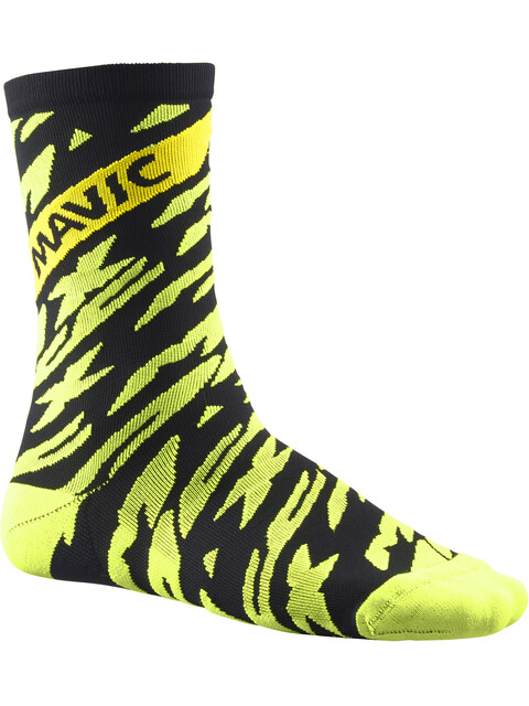 Mavic Deemax Pro High Sock Safety Yellow/Black